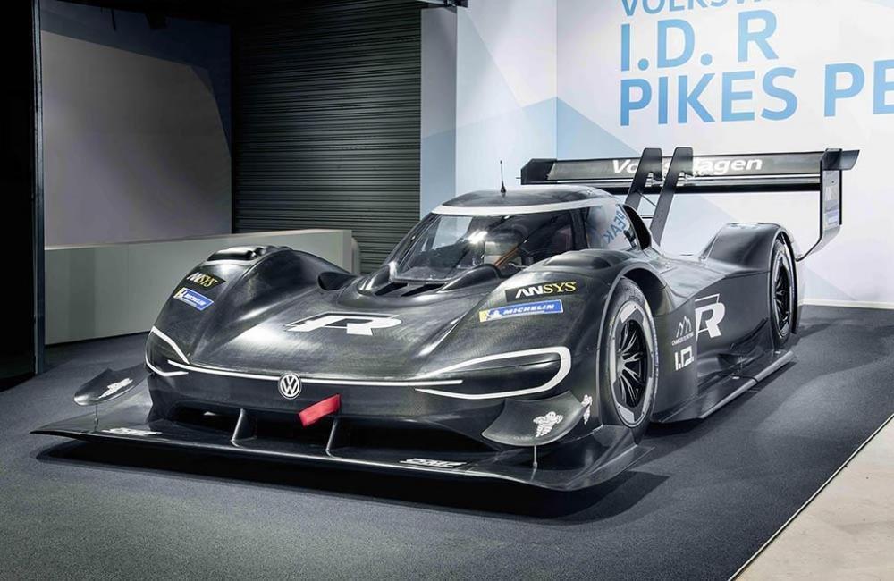 Siêu xe điện ''''''''thần tốc'''''''' Volkswagen I.D. R Pikes Peak chính thức trình diện 2