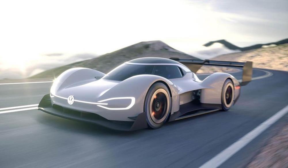 Siêu xe điện ''''''''thần tốc'''''''' Volkswagen I.D. R Pikes Peak chính thức trình diện 5