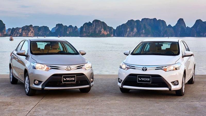So sánh xe Hyundai Accent 2018 phiên bản 1.4AT đặc biệt và Toyota Vios 1.5G CVT 2018 về thiết kế 3