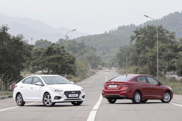 So sánh xe Hyundai Accent 2018 phiên bản 1.4AT đặc biệt và Toyota Vios 1.5G CVT 2018 về thiết kế