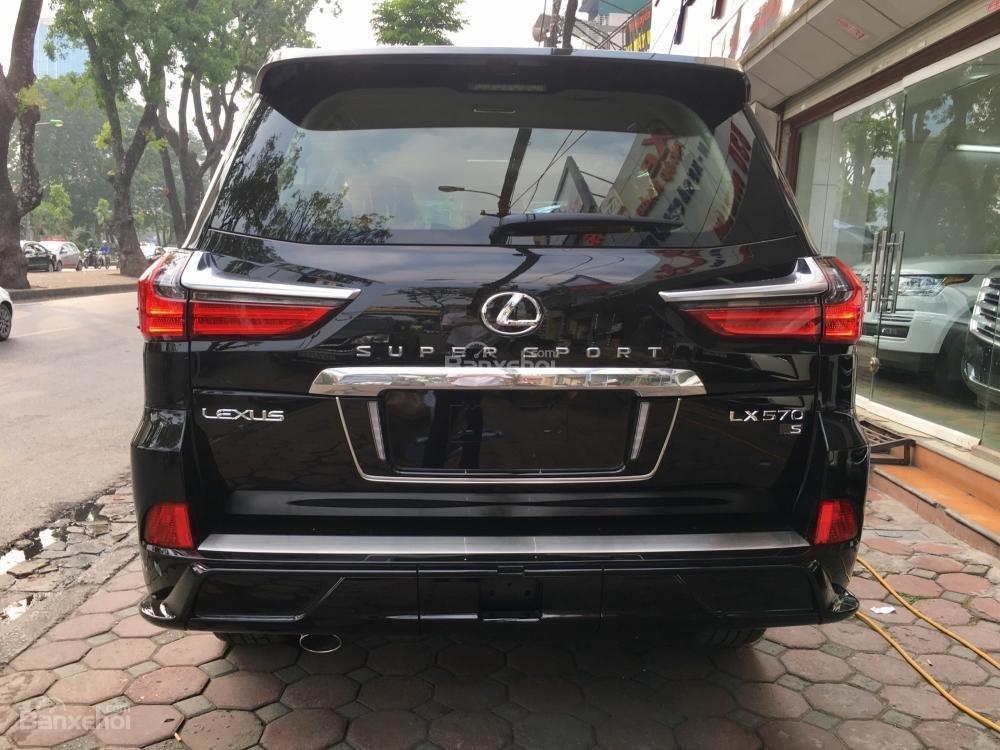 Bán xe Lexus LX Super Sports 570S, năm sản xuất 2018, màu đen, nhập khẩu (5)