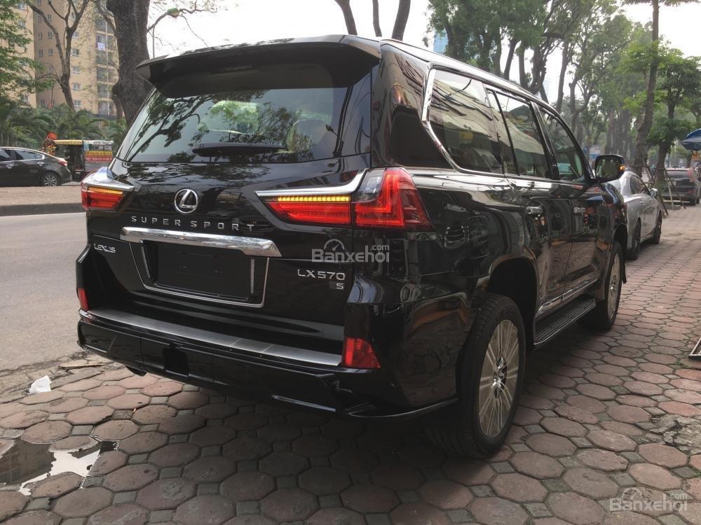 Bán xe Lexus LX Super Sports 570S, năm sản xuất 2018, màu đen, nhập khẩu (8)