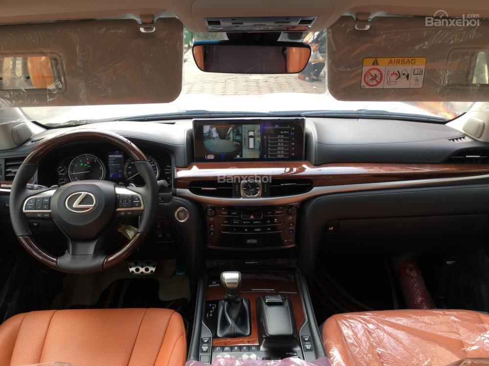 Bán xe Lexus LX Super Sports 570S, năm sản xuất 2018, màu đen, nhập khẩu (19)