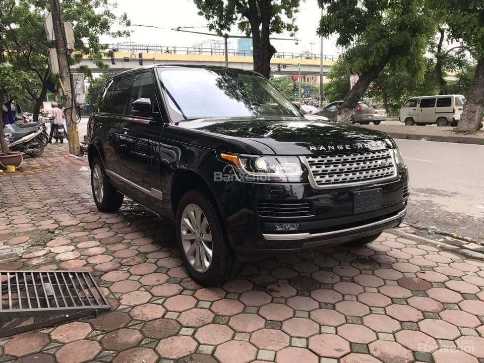 Bán ô tô LandRover Range Rover Hse 3.0 SX 2015, màu đen, nhập khẩu nguyên chiếc LH: 0982.84.2838 (1)