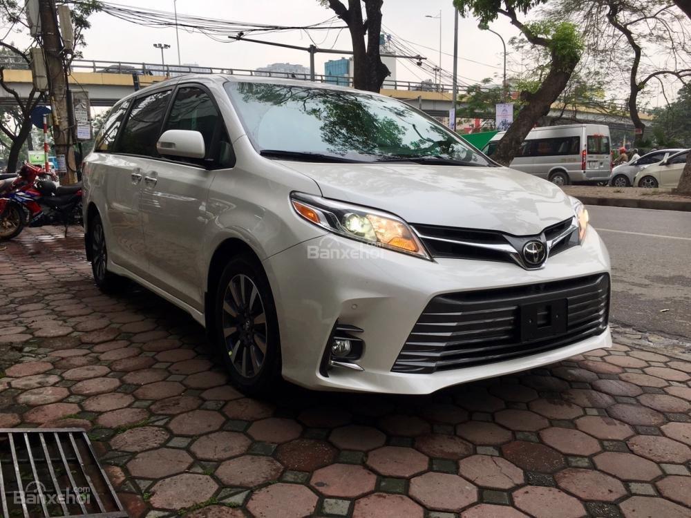 Cần bán Toyota Sienna Limited đời 2018, màu trắng, nhập Mỹ-1