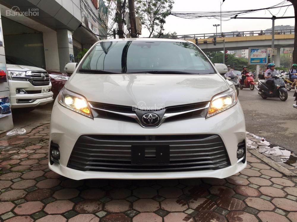 Cần bán Toyota Sienna Limited đời 2018, màu trắng, nhập Mỹ-2