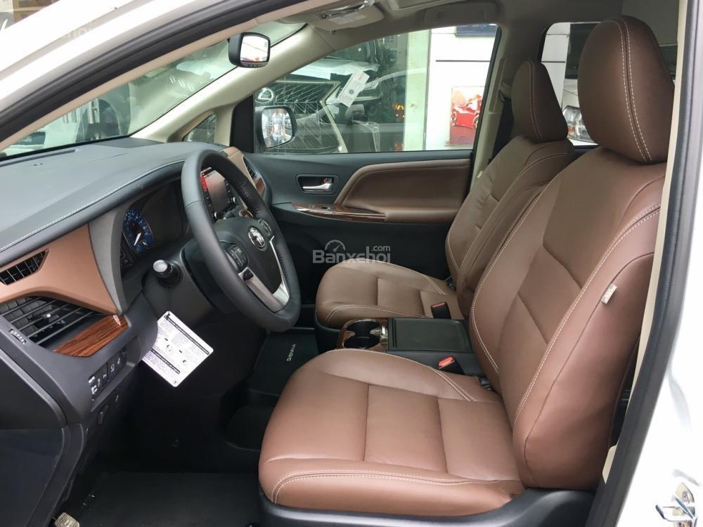 Cần bán Toyota Sienna Limited đời 2018, màu trắng, nhập Mỹ-8