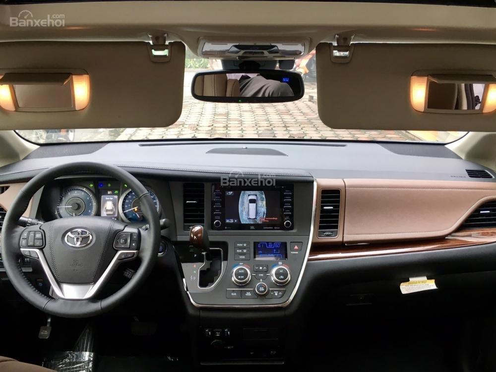 Cần bán Toyota Sienna Limited đời 2018, màu trắng, nhập Mỹ-18