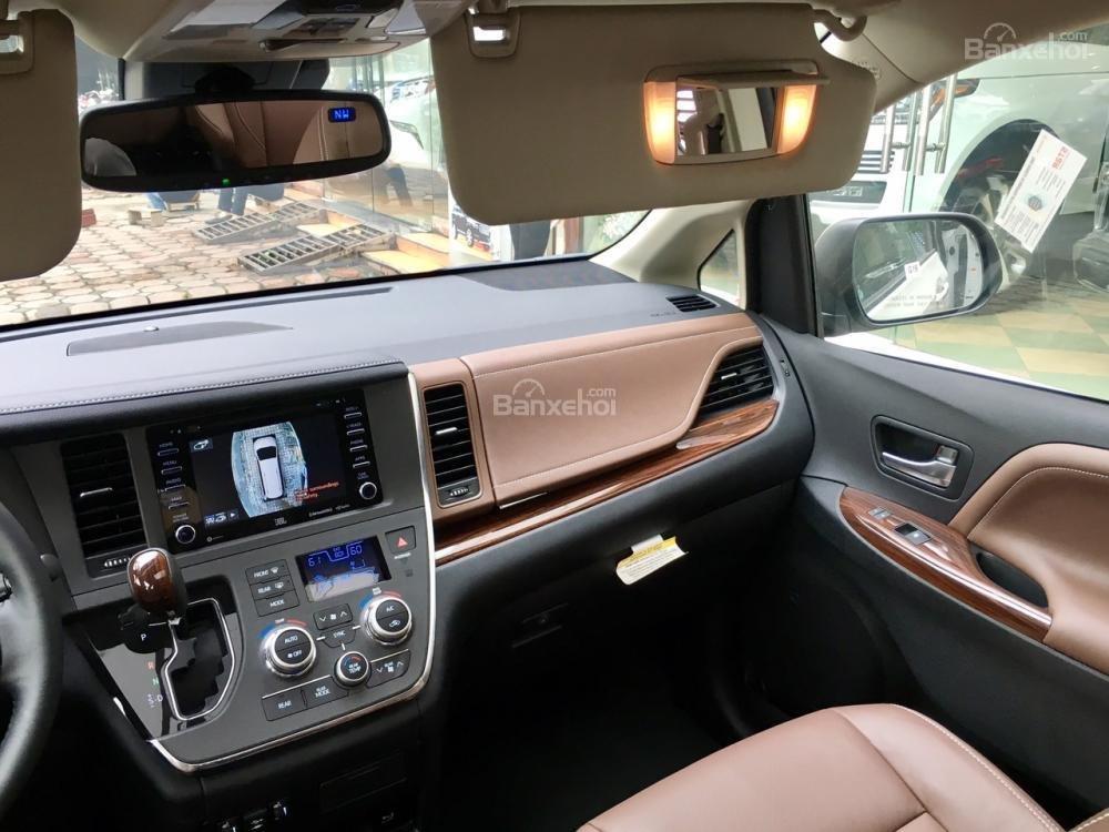 Cần bán Toyota Sienna Limited đời 2018, màu trắng, nhập Mỹ-20