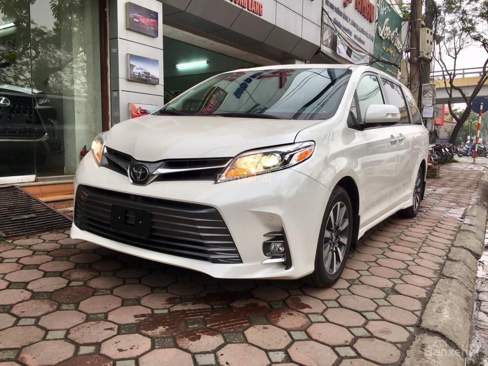 Cần bán xe Toyota Sienna Limited sản xuất 2019, màu trắng, xe nhập Mỹ giá tốt, LH 0905.098888 - 0982.84.2838 (1)