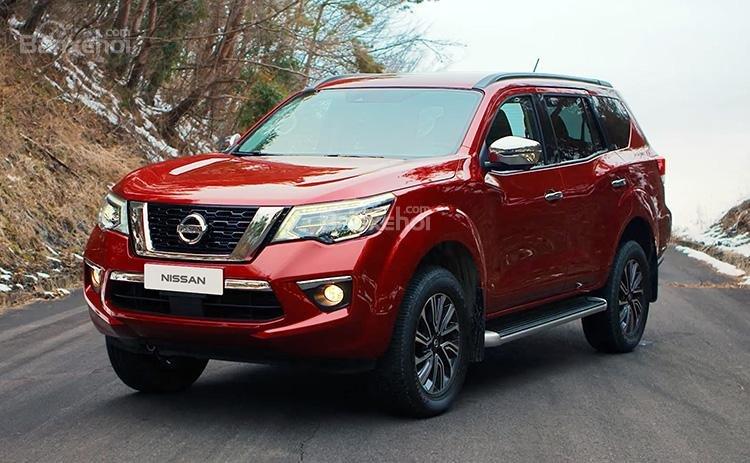 """Nissan Terra 2018 rõ ràng trông giống như mẫu xe """"đàn anh"""" Navara."""