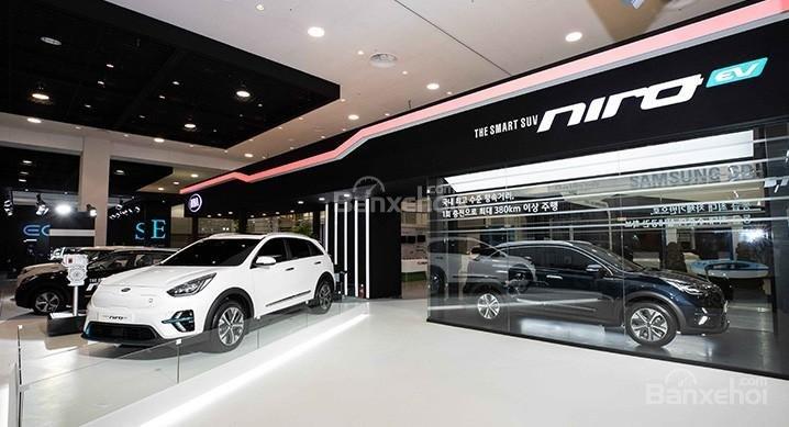 Kia Niro EV 2019 chính thức ra mắt tại Hàn Quốc 3a