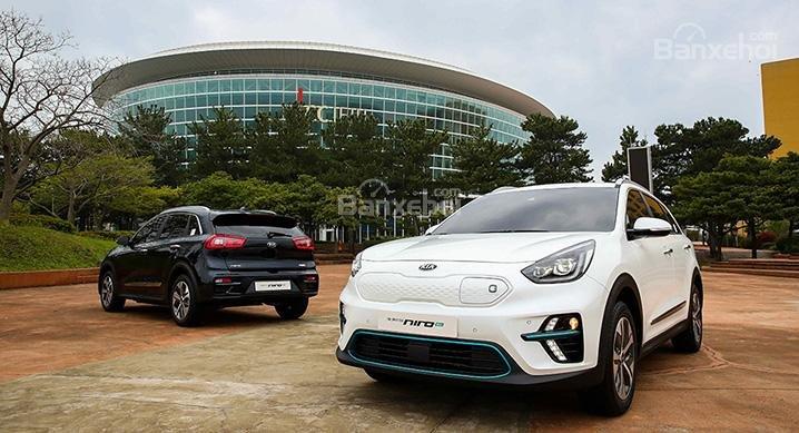 Kia Niro EV 2019 chính thức ra mắt tại Hàn Quốc 1a