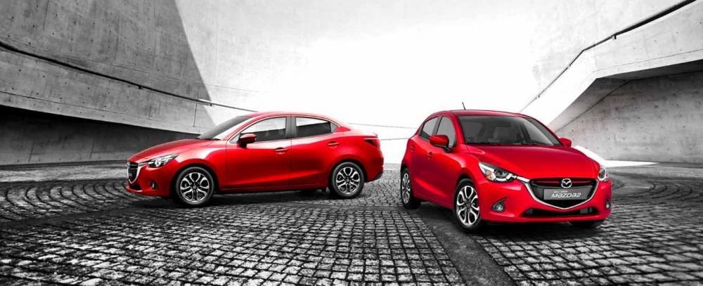 So sánh xe Mazda2 2018 sedan và Toyota Vios 1.5G CVT 2018