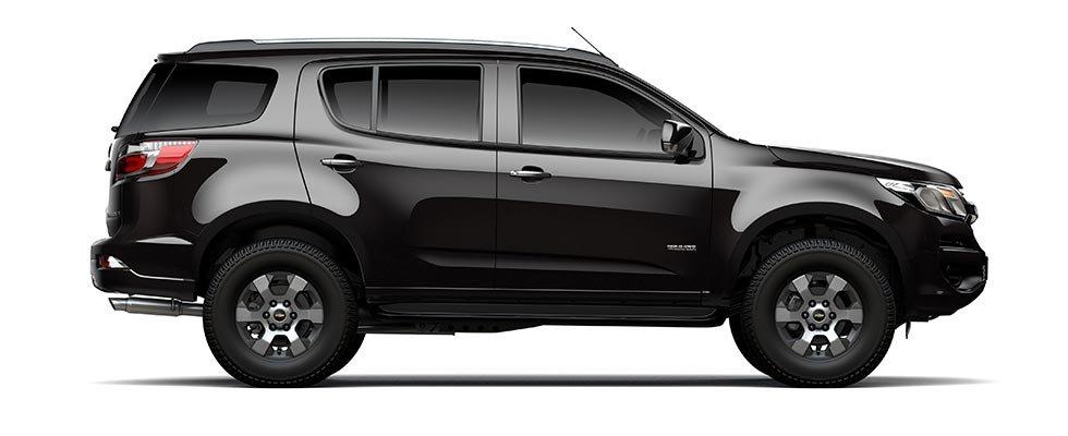 So sánh xe Isuzu MU-X và Chevrolet Trailblazer về thân xe.