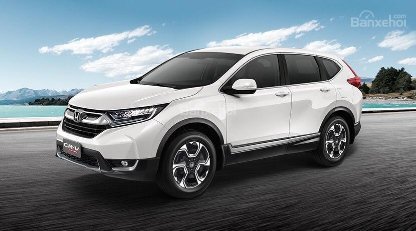 Honda Ôtô Hải Phòng: Bán Honda CR-V 2019  NK Thái ưu đãi lớn, nhiều quà tặng, có xe giao ngay, liên hệ 0937282989-0