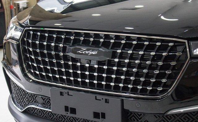 Ảnh chụp lưới tản nhiệt kim cương xe Zotye Z8 2018