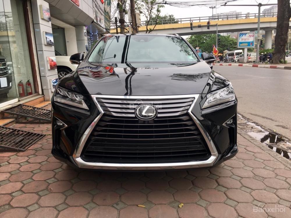 Bán xe Lexus RX 350L 07 chỗ sản xuất năm 2018, màu đen, nhập khẩu Mỹ, giá tốt, LH: 0905.098888 - 0982.84.2838 (1)