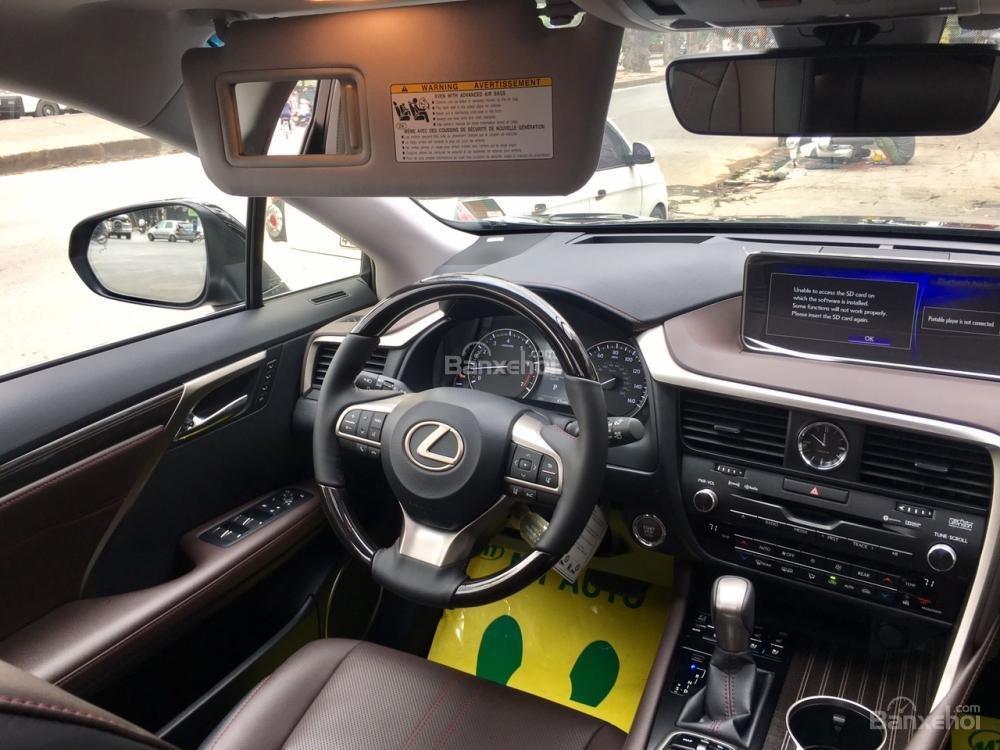 Bán xe Lexus RX 350L 07 chỗ sản xuất năm 2018, màu đen, nhập khẩu Mỹ, giá tốt, LH: 0905.098888 - 0982.84.2838 (16)