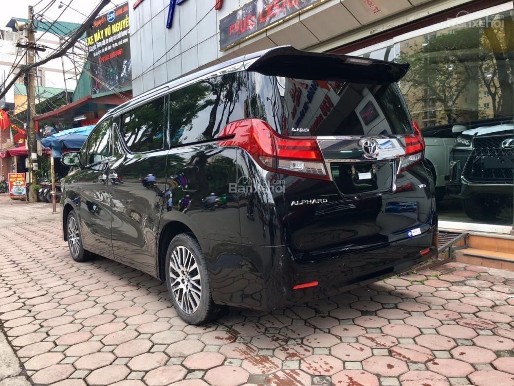 Cần bán xe Toyota Alphard sản xuất năm 2017, màu đen, xe nhập LH: 0982.84.2838 (6)