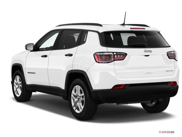 Đánh giá xe Jeep Compass 2018: Cửa cốp khoét rãnh z