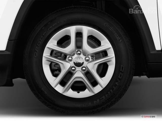 Đánh giá xe Jeep Compass 2018: La-zăng 5 chấu kép đẹp mắt z