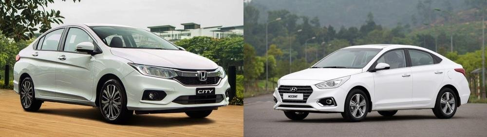 So sánh xe Honda City 1.5 TOP và Hyundai Accent 1.4 AT đặc biệt về thiết kế