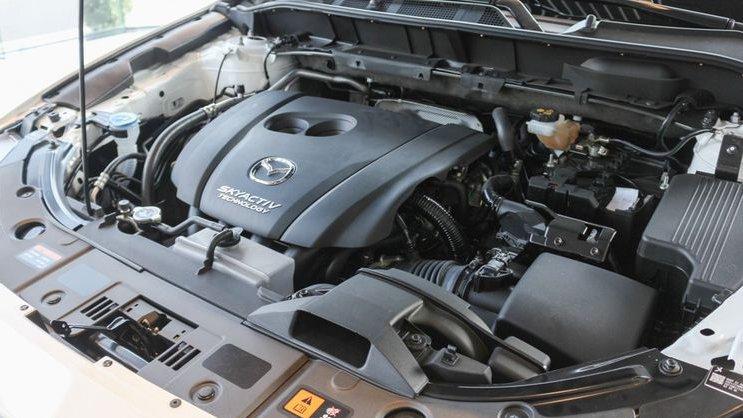 Mazda CX-5 có sức mạnh vượt trội so với Mitsubishi Outlander.