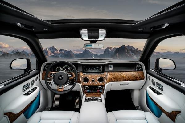 4 tính năng tạo nên đẳng cấp cho SUV siêu sang Rolls-Royce Cullinan 9