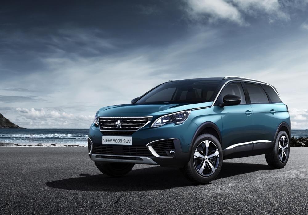 Giá xe Peugeot 5008 tháng 2/2019.
