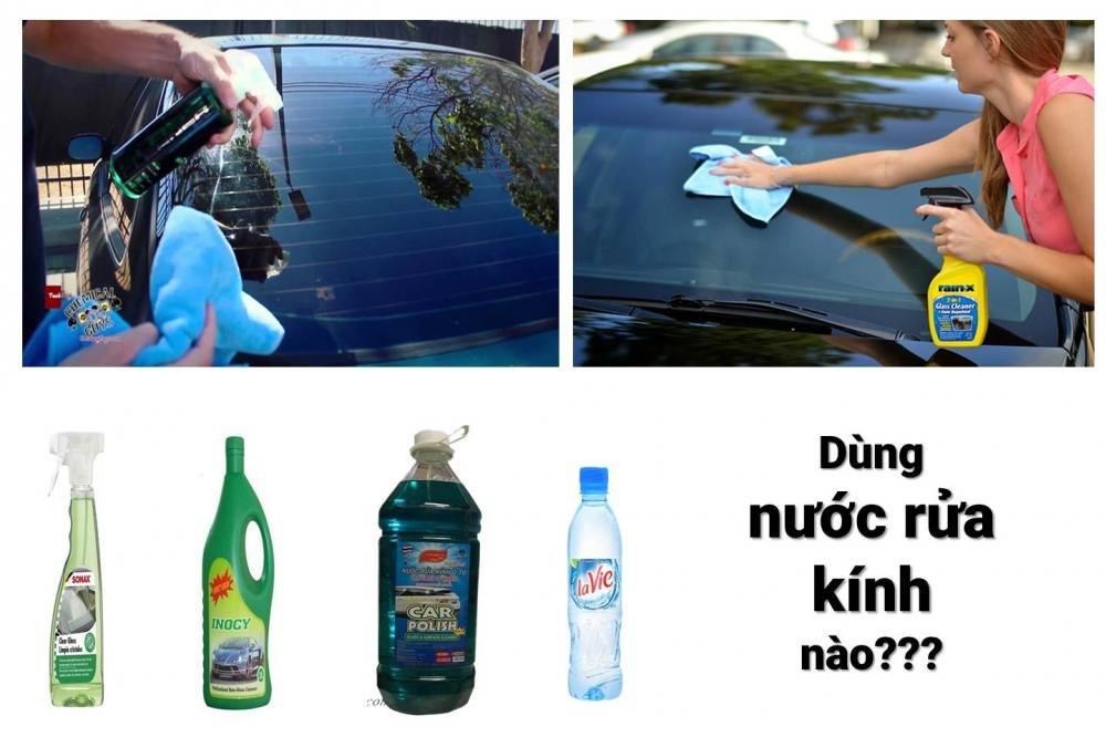 Thị trường Việt Nam cung cấp nhiều loại nước rửa kính khác nhau 1