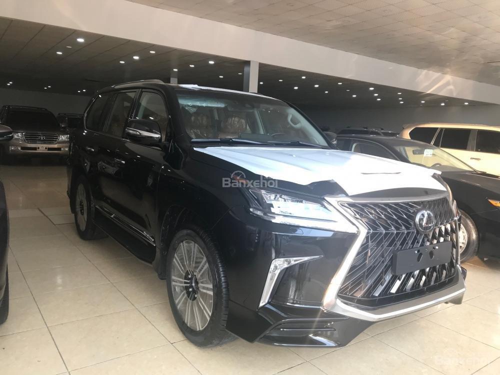 Cần bán Lexus LX Super Sport 2018, màu đen, xe giao ngay màu đen trắng-2