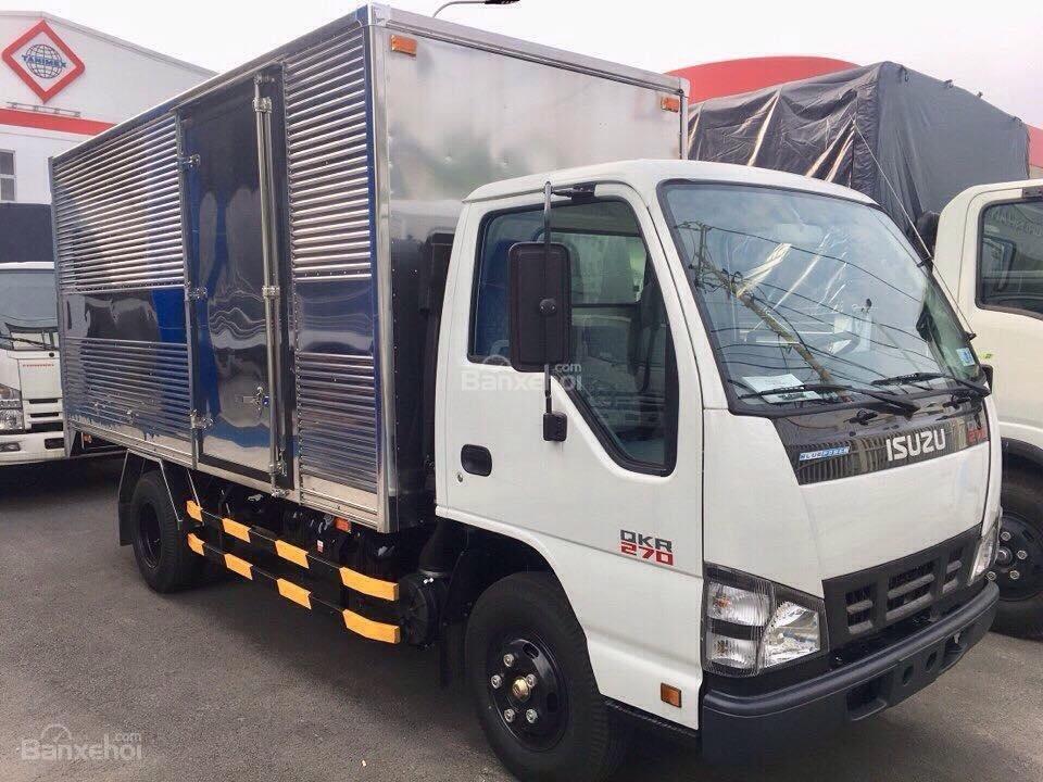 Bán xe tải Isuzu 1.9 tấn, thùng kín inox-0