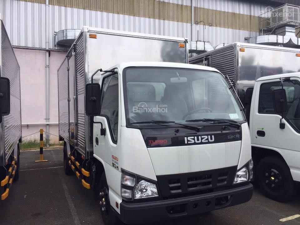 Bán xe tải Isuzu 1.9 tấn, thùng kín inox-2