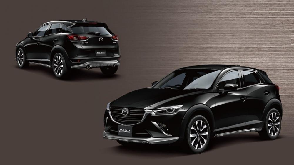 Mazda CX-3 sẽ có thêm phiên bản động cơ diesel SkyActiv-D a7