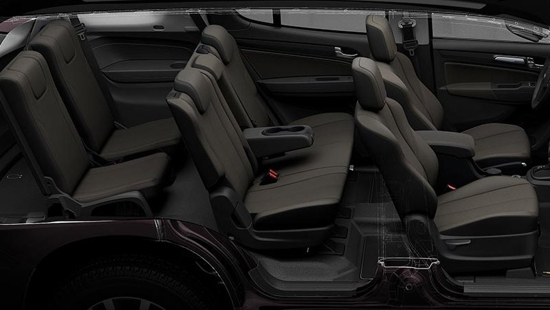 So sánh xe Toyota Fortuner 2.7V 4x4 2018 và Chevrolet Trailblazer 2.8L LTZ AT 4x4 2018 về ghế ngồi 1