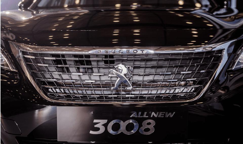 Đánh giá xe Peugeot 3008 2018: Lưới tản nhiệt hình thang ngược  1
