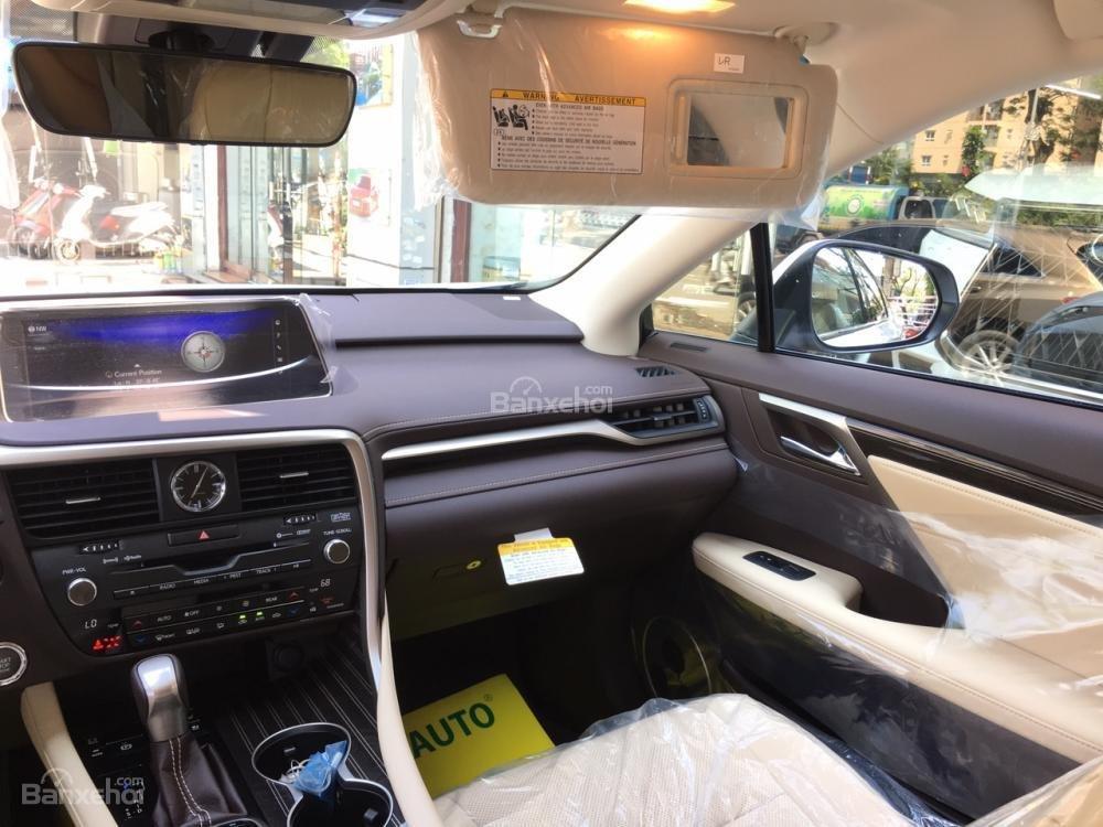 Cần bán Lexus RX 350L sản xuất năm 2018, bản 07 chỗ màu trắng, nhập khẩu Mỹ, giá tốt-11