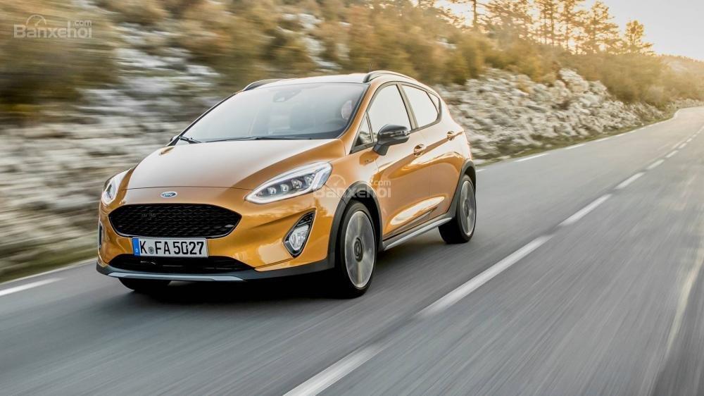 Đánh giá xe Ford Fiesta Active 2018: Cho cảm giác lái của một mẫu xe cỡ nhỏ.