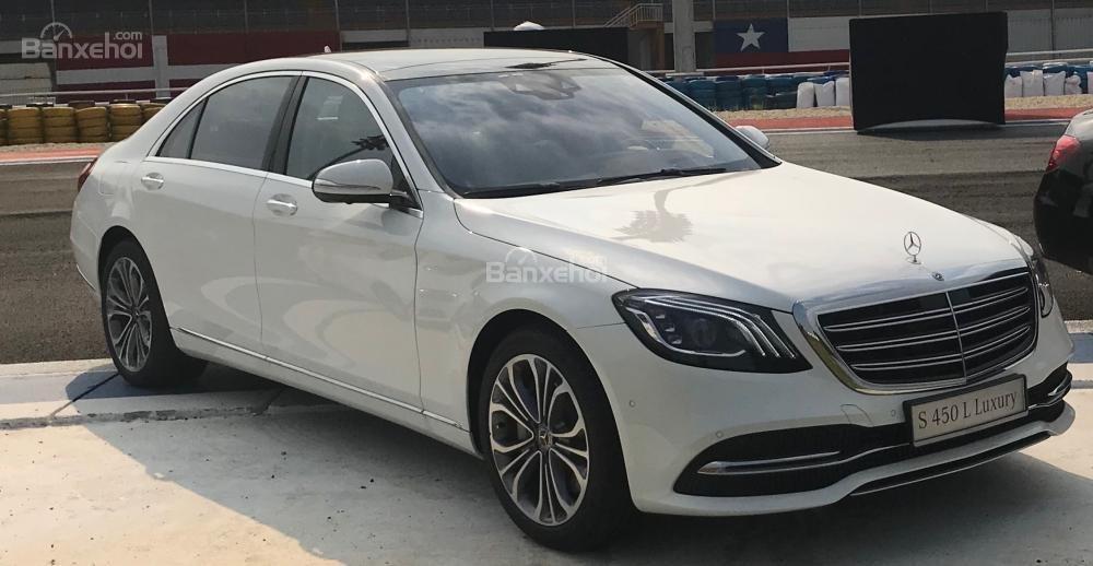 Bán Mercedes S450 Luxury 2019 xuất hiện tại thị trường Việt Nam, đẳng cấp (1)