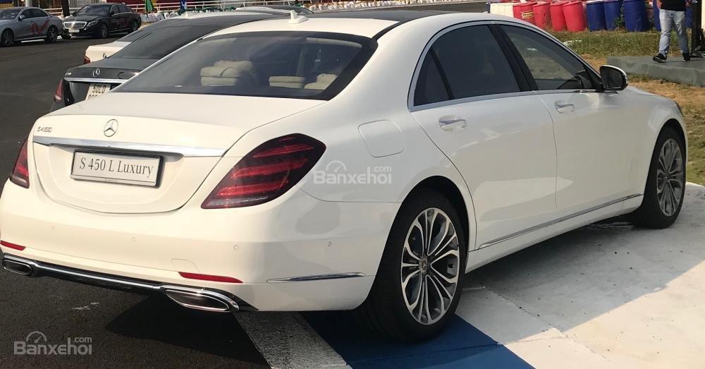 Bán Mercedes S450 Luxury 2019 xuất hiện tại thị trường Việt Nam, đẳng cấp (2)