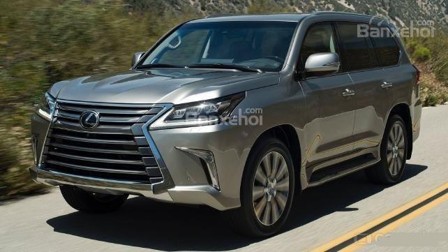 Ưu nhược điểm của mẫu Lexus LX570 2018.