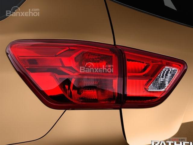 Đánh giá xe Nissan Pathfinder 2018: Đèn hậu bố cục bóng mới z