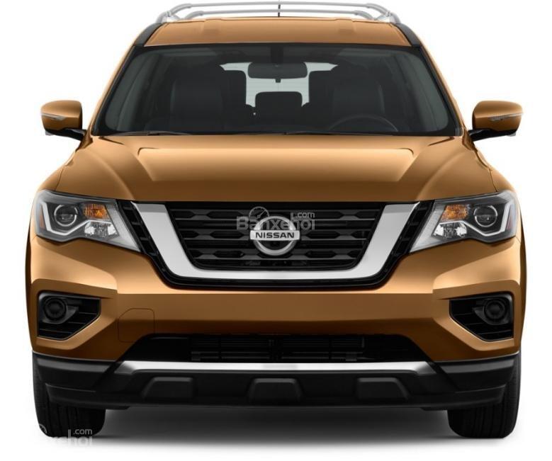 Đánh giá xe Nissan Pathfinder 2018: Đầu xe nâng cấp z