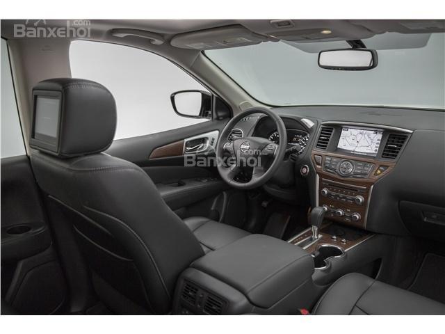 Đánh giá xe Nissan Pathfinder 2018: Nhiều trang bị tiện nghi hiện đại z