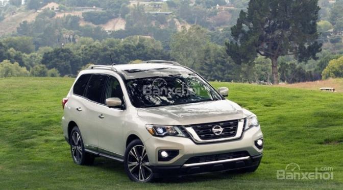 Đánh giá xe Nissan Pathfinder 2018 về trang bị an toàn z