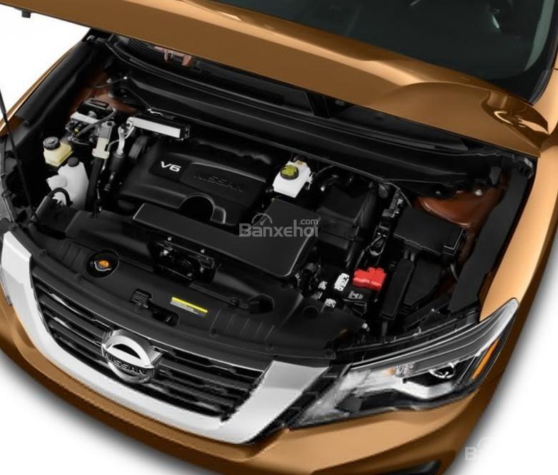 Đánh giá xe Nissan Pathfinder 2018 về hệ thống động cơ z
