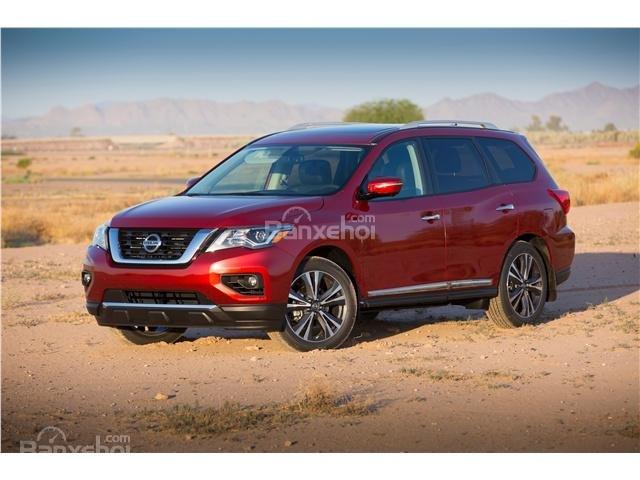 Đánh giá xe Nissan Pathfinder 2018: Thân thiện và đẹp mắt hơn zz