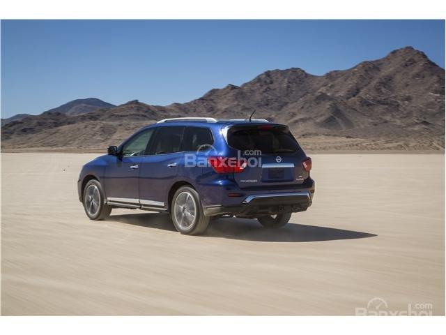Đánh giá xe Nissan Pathfinder 2018 về cảm giác lái 2a