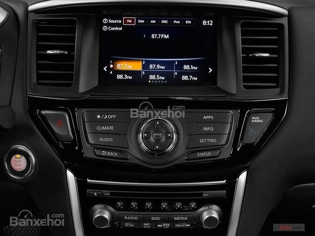 Đánh giá xe Nissan Pathfinder 2018: Nhiều trang bị tiện nghi hiện đại 5a